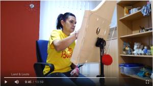 Sandra im ATV