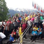 Die Bunten Gruppenbild in Innsbruck